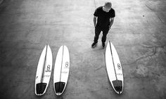 SLATER DESIGNS - The first 3 Slater Designs boards Sci-Phi, Omni and the Banana. -The Sci-Phi shaped by Daniel Thomson, Kelly's original dimensions were 5'10''x 18 3/8''x 2 1/4'' (25.8 litres). -The Omni shaped by Daniel Thomson original dimensions are 5'3''x 18 3/4''x 2 5/16'' (24.8 litres)  -The Banana shaped by Greg Webber, original dimensions 5'10''x 18 3/8''x 2 1/4'' (25.8 litres).  All these models are available in a comprehensive size range