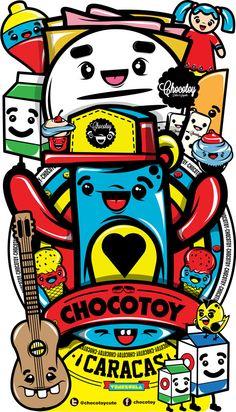 Chocovenezolano by ChocoToy , via Behance