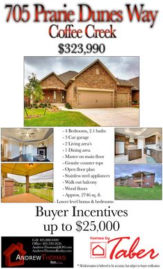 Check out this gorgeous home in Coffee Creek Addition. It is simply stunning. Call me for a showing today! #CoffeeCreek #EdmondHomes #HomesInEdmond #Edmond #OKC #OKCHomes #HomesInOKC #Realtor #KellerWilliams #Taber #TaberHomes