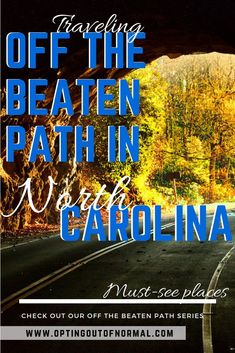 Are you traveling to North Carolina on vacation? Or maybe you're moving to or living in North Carolina. There are so many thanks to do from the beaches to the mountains. Don't miss our off the beaten path series where we feature a different state each week of fun and unique things to do. Take a road trip to Asheville or Wilmington to see the popular things, but also check out our list of small and different things to do in North Carolina. #rvlife #roadtrip #northcarolina #travel #visitNC