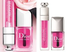 Dior Lip & Nail Glow from Dior Chérie Bow spring 2013 collection