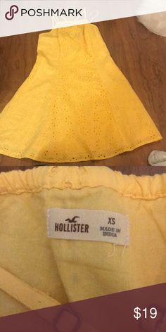 Yellow sundress Only worn once Dresses Mini