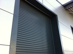 Insulated Industrial Roller Shutter by Combat Doors