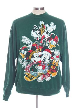 Disney Winnie The Pooh Tigger Christmas Holiday Sweater Ugly ...