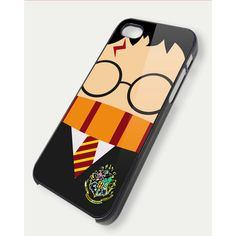 harry potter face TM52 iPhone 5 Case, iPhone 4 Case, iPhone 4s Case,... ($15) ❤ liked on Polyvore featuring accessories, tech accessories, phone cases, harry potter, phone and iphone