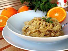 Orange Anchovy Pasta | Pomarańczowa Pasta