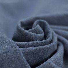 Sweatshirt stof jeans gemeleerd kopen? 40 verschillende kleuren