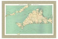 love the old map... i would do sea-foam matting and a ornate gold frame
