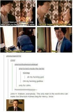 Well, I tried not I to, but now I must: I ship Johnlock.