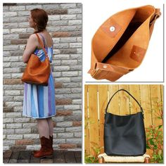 The Catalina leather hobo bag is constructed with everyday functionality in mind. Clean lines, a relaxed shape, and a great size for day to day use. Hobo Purses, Purses And Handbags, Leather Hobo Handbags, Leather Purses, Leather Bags Handmade, Thick Leather, Leather Shoulder Bag, Shoulder Strap, Day Use