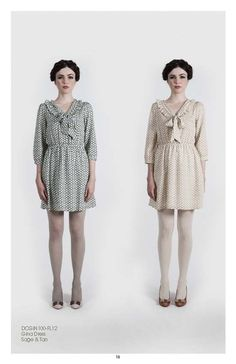 Pretty dresses by Dear Creatures fall 2012