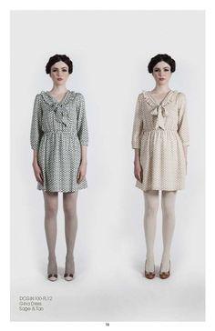 Pretty dresses by Dear Creatures fall 2012