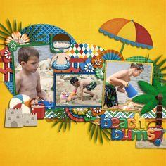 beach page