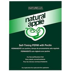 SP-254742 NATURAL APPLE SELF-TIMING ALKALINE PERM  Natural Apple Self-Timing Perm with Pectin maintains hair in optimal condition during the waving process. Specially formulated with Moisture Equilibrium Constant, this apple-scented waving system will combats dryness by helping hair retain its vital natural moisture and leaves hair smooth, shiny and manageable. You choose the wrapping method- water or lotion- best suited to each client's individual hair type. No test curl/no dryer heat…