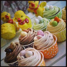 #påsk #easter #cupcake #cupcakes #dessert #dessertoftheday #yummy #gott #linné #göteborg #gbgftw