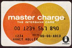 "The Master Card debuted as ""Master Charge."" The Master Card debuted as ""Master Charge. My Childhood Memories, Best Memories, 1970s Childhood, School Memories, I Remember When, Thing 1, My Youth, Good Ole, Ol Days"