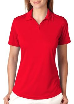 Ultraclub Cool  Dry Sport Performance Interlock Polo 8425L Maroon 3XL ** Read more reviews of the product by visiting the link on the image.