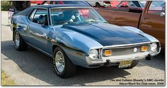 One of the most awesome cars I've ever owned, although definitely NOT the most fuel efficient - 1973 AMC javelin