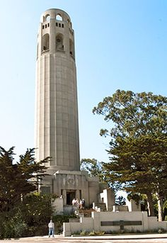 Coit Tower, San Fran, Ca, Been to the top! Redwood City California, California Dreamin', Northern California, San Francisco City, San Francisco Travel, Great Places, Places To See, California Tourist Attractions, Lombard Street