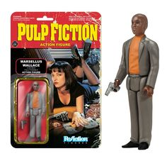 Pulp Fiction Marsellus Wallace ReAction Figure