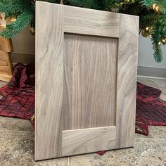 Someone is getting walnut cabinet doors under their tree for Christmas  this raw... #cabinetdesign #customcabinets #cuttingedge #designer #dreamkitchen #tbcgeneralcontracting #walnut Walnut Cabinets, Custom Cabinets, Cabinet Design, Cabinet Doors, Christmas, Home, Hickory Cabinets, Custom Closets, Xmas