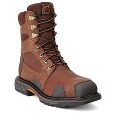 """Ariat Men's Overdrive™ 8"""" Wide Square Toe H20 CT Work Boots"""