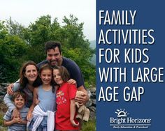 Family Activities for Kids with Large Age Gap
