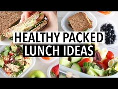 EASY HEALTHY PACKED LUNCH IDEAS – For school/ or work! Today I'm sharing with you some more easy healthy packed lunch ideas for school or work! These recipes are all very simple, easy and healthy – and … source Easy High Protein Meals, Healthy Lunches For Kids, Healthy Snacks, Easy Meals, Healthy Eating, Healthy Recipes, Easy Salad Recipes, Lunch Recipes, Wrap Recipes