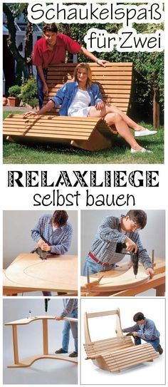 Saunaliege Aus Holz Lounger Backyard Wooden Daybed