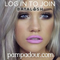 """In less than 10 minutes the entire @batalashbeauty team will be on pampadour.com answering all your beauty questions! Be sure to Log In and use the hashtag #batalash in all your posts. CLICK \""""START A DISCUSSION\"""" to ask your questions. Get ready to chat with @ssssamanthaa @jkissamakeup @dominiqueldr @dirtymelodies This is sure to be a great night with #makeup giveaways and a grand prize. Be sure to connect with all of them and don't forget to invite your friends."""