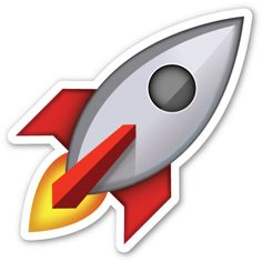 Rocket | EmojiStickers.com
