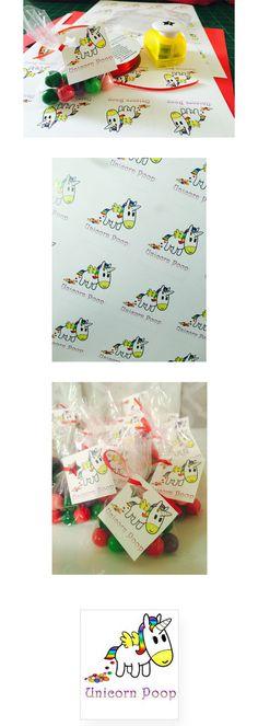 Unicorn Poop Tags Printable   Dreamy Panda