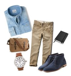 """Ny boy"" by serenae on Polyvore featuring Abercrombie & Fitch, MANGO, Ludwig Reiter, Shinola, J.Crew, mens, men, men's wear, mens wear and male"