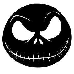 "Jack Skellington Nightmare Before Christmas Movie Vinyl Decal Stickers 6"" x 6"". $4.00, via Etsy."