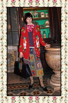 Gucci - Pre-Fall 2017. ~ ONLY the SKIRT ❣️⚠️❣️