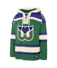 Hartford Whalers Men's 47 Brand Green Pullover Jersey Hoodie Detroit Game, Hartford Whalers, Nhl Jerseys, Hoodies, Sweatshirts, Hockey, Pullover, Green, Sweaters
