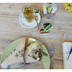 Earth Tea @ VERS in Alkmaar. Super lekkere lunch ook. Zie onze website voor de review. www.weliketoknow.nl