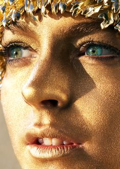 Lindsay Lohan: Coming Of Age - Allure by Mario Testino, May 2007 Mean Girls, Living Statue, Magical Makeup, Mario Testino, Glitter Girl, Lindsay Lohan, Body Piercings, Interesting Faces, Face And Body