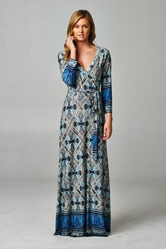 Blue Bayou Maxi Wrap