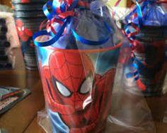 Resultado de imagen para spiderman centerpieces