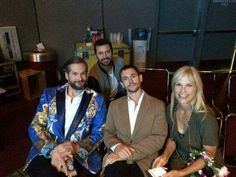 Richard and Hannibal people at 2015 SDCC