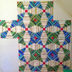 Satin Blanket Binding Is Evil, and Pineapple Log Cabin Blocks Are Lonely Log Cabin Quilt Pattern, Log Cabin Quilts, Lap Quilts, Scrappy Quilts, Log Cabins, Quilting, Pineapple Quilt Pattern, Pineapple Quilt Block, Patchwork Patterns