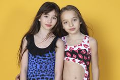 Malina & Mary #12 & #9 in Our 'Ones to Watch' Series with LaPetite Magazine & Petite Parade in Submarine Swimsuits by LEE CLOWER PHOTOGRAPHY.