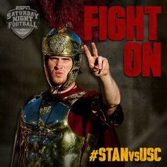 USC Trojans FIGHT ON #WeBleedCardinalandGold