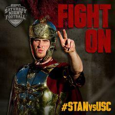 USC Trojans FIGHT ON #WeBleedCardinalandGold