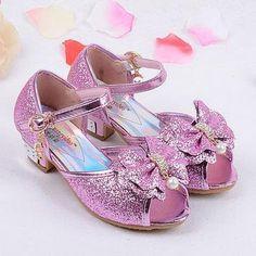 qloblo zapatos de verano Sandalias de las niñas niños de moda princesa de  cuero 2018 sandalias de tacones altos 6bda00e62bc0