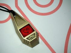 Digimon Tag with Sora's Crest of Love by ChinookCrafts on Etsy, $24.99