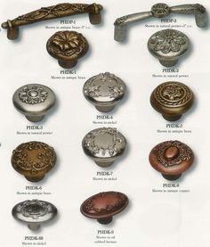 knobs and pulls | Cool Knobs and Pulls | Kitchen Cabinet Hardware Designs at Great