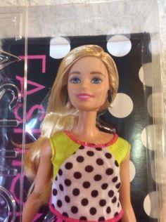 Mattel-Barbie-FASHIONISTAS-2015-No13-DOLLED-UP-DOTS-NIB-NRFB