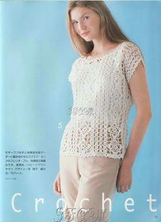 Nice! Crochet pattern included.